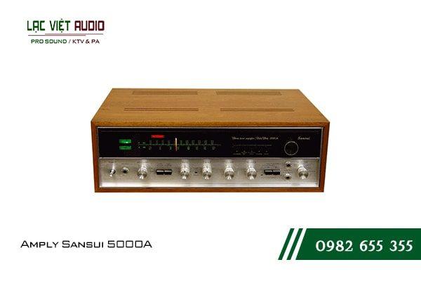Giới thiệu về thiết bịAmply Sansui 5000A