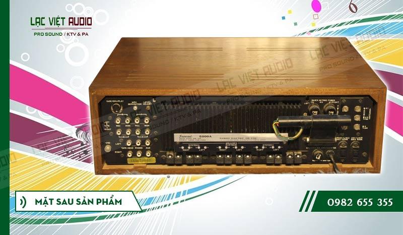 Thiết kế bên ngoài của sản phẩmAmply Sansui 5000A