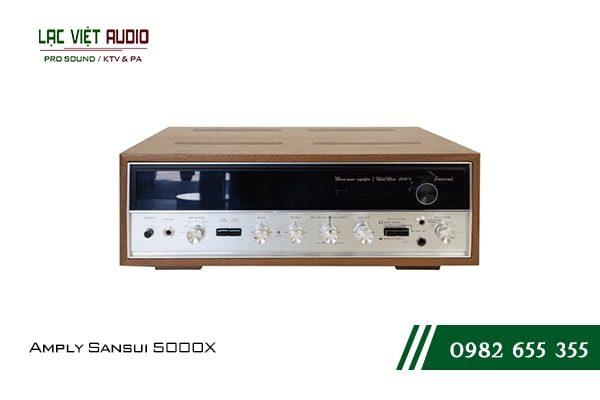 Giới thiệu về sản phẩmAmply Sansui 5000X