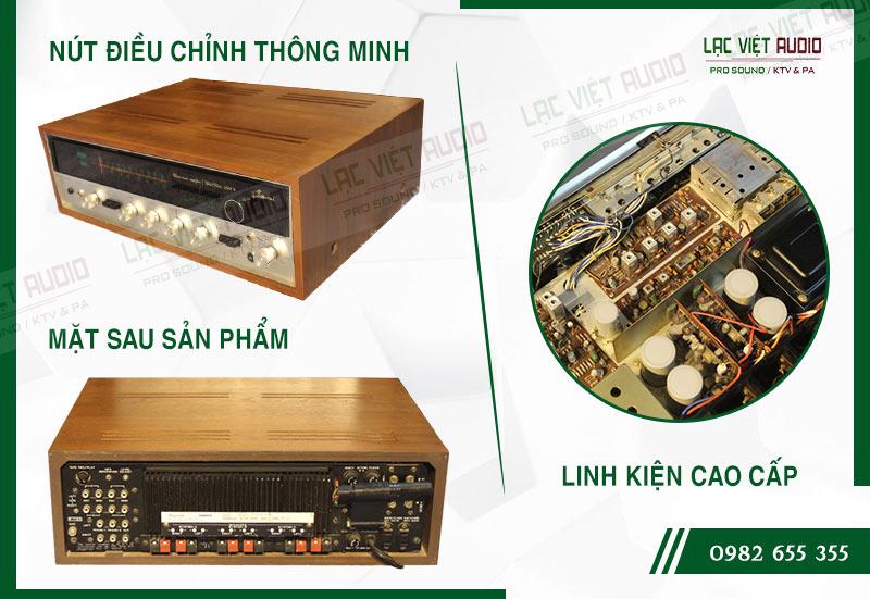 Các đặc điểm nổi bật của sản phẩmAmply Sansui 5000X