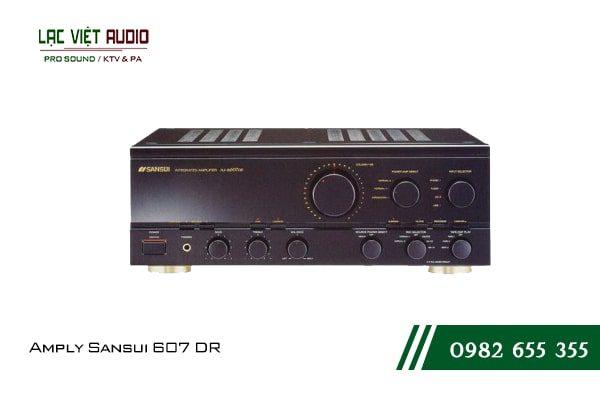 Giới thiệu về thiết bịAmply Sansui 607 DR