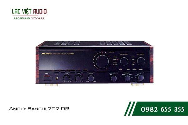 Giới thiệu về thiết bịAmply Sansui 707 DR