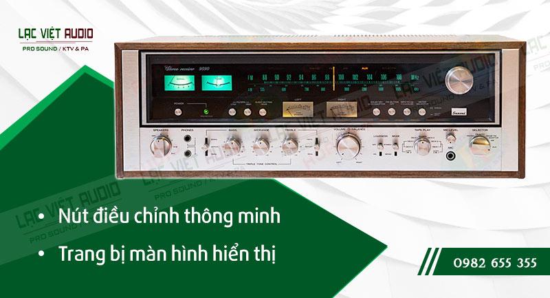 Các đặc điểm nổi bật của sản phẩmAmply Sansui 9090