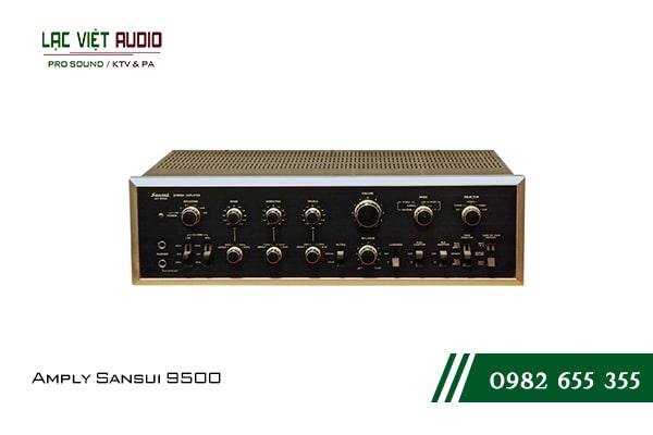 Giới thiệu về thiết bịAmply Sansui 9500