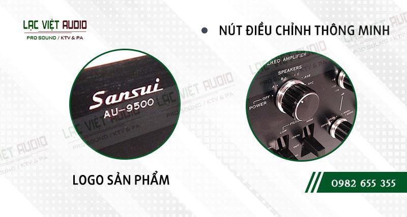 Các đặc điểm nổi bật của sản phẩmAmply Sansui 9500