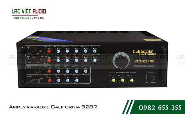 Amply karaoke California 828R
