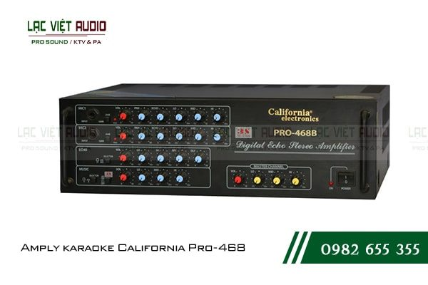 Amply karaoke California Pro-468B