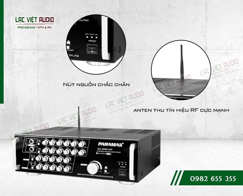 Amply Paramax SA-888 AIR NEW thiết kế