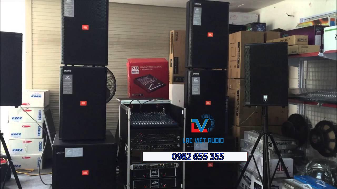 Bán âm thanh sân khấu hàng bãi tại Lạc Việt