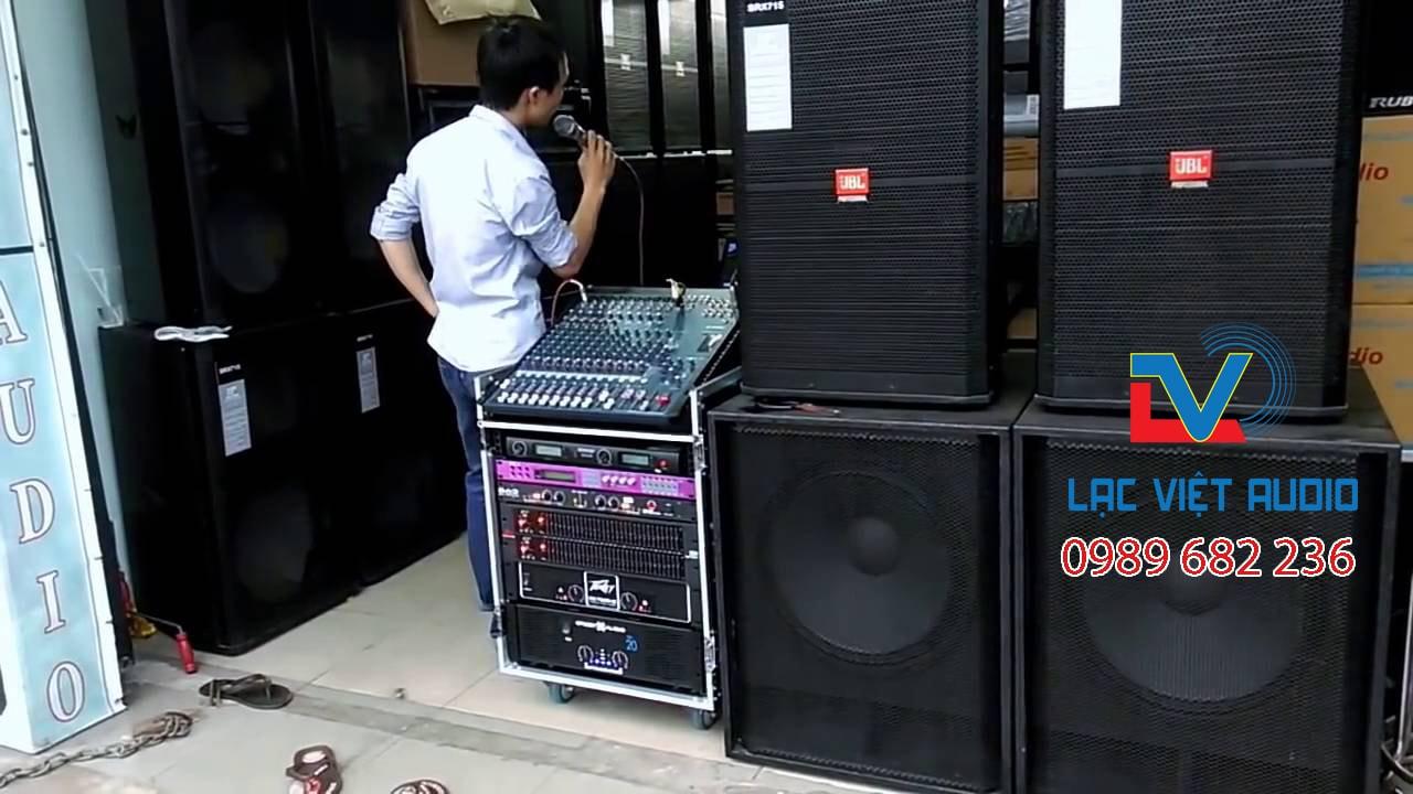 Bán dàn âm thanh sân khấu cũ tại Lạc Việt