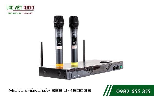 Giới thiệu về sản phẩmMicro BBS U 4500GS