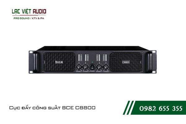Giới thiệu về sản phẩmCục đẩy công suất BCE C8800