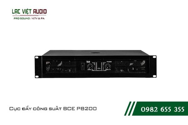 Giới thiệu về sản phẩm Cục đẩy công suất BCE P8200