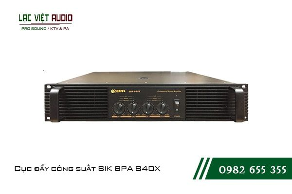 Giới thiệu về sản phẩm Cục đẩy công suất BIK BPA 840X