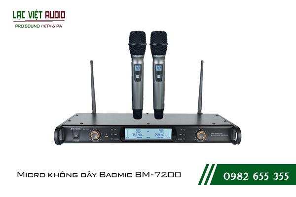 Giới thiệu về sản phẩmMicro không dây Baomic BM7200