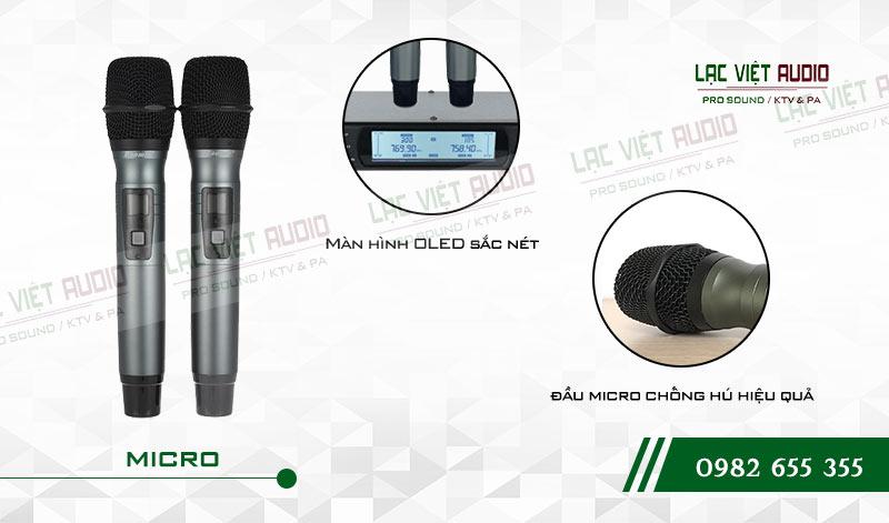 Tính năng độc đáo và nổi bật của sản phẩmMicro không dây Baomic BM7200
