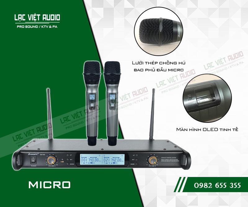 Tính năng độc đáo và nổi bật của sản phẩmMicro không dây Baomic BM7300