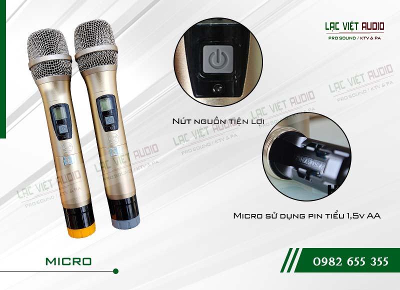 Các tính năng độc đáo và nổi bật nhất của sản phẩmMicro không dây BF audio J10
