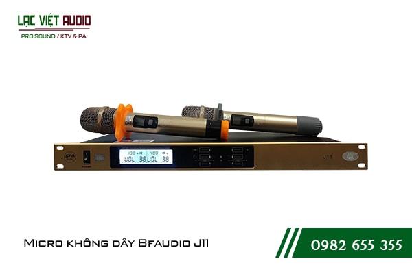 Giới thiệu về sản phẩmMicro không dây BF Audio J11