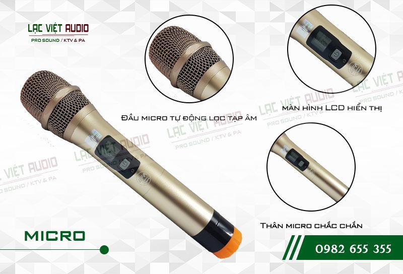 Thiết kế bên ngoài của sản phẩmMicro không dây BF Audio J11