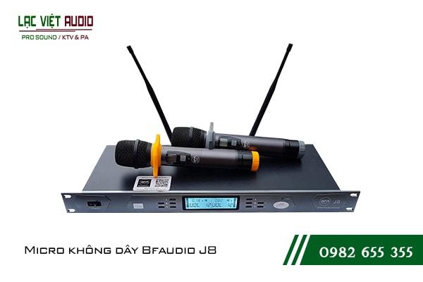 Giới thiệu về sản phẩmMicro BF Audio J8