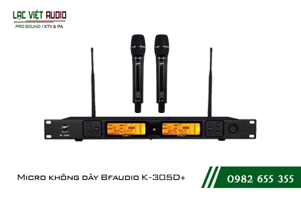 Giới thiệu về sản phẩmMicro BFaudio K305D+