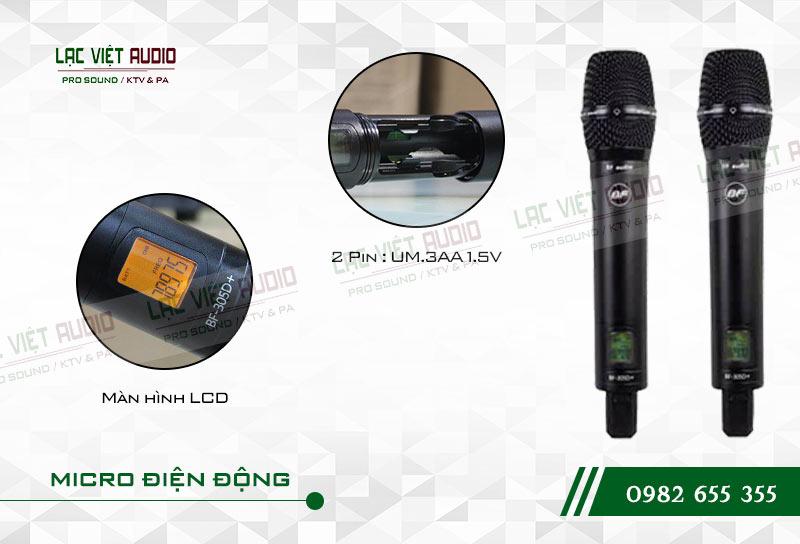 Các tính năng nổi bật của sản phẩmMicro BFaudio K305D+