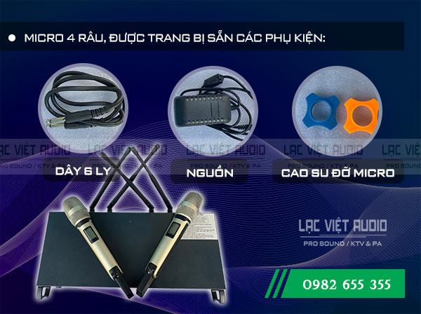 Bộ sản phẩm Micro không dây DB KS - 605