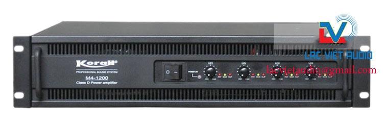 Cục đẩy 4 kênh công suất lớn M4 1200