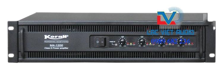 Cục đẩy 4 kênh M4 1200