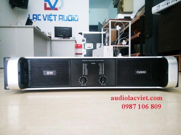 Cục đẩy công suất BW D2650