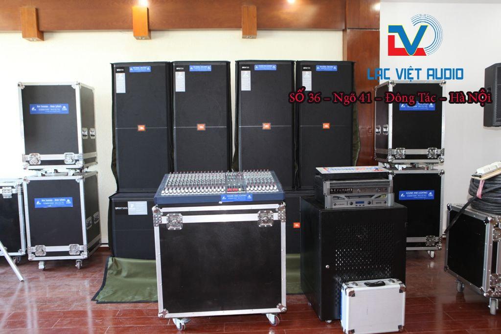 Chỉnh dàn âm thanh đám cưới Lạc Việt Audio
