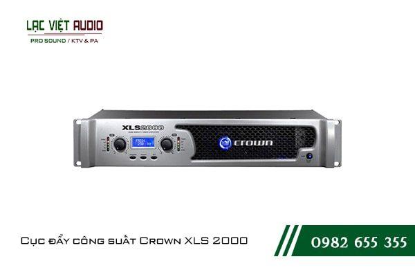 Giới thiệu về sản phẩmCục đẩy công suất Crown XLS 2000