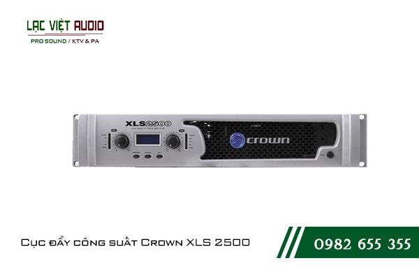 Giới thiệu về sản phẩmCục đẩy công suất Crown XLS 2500