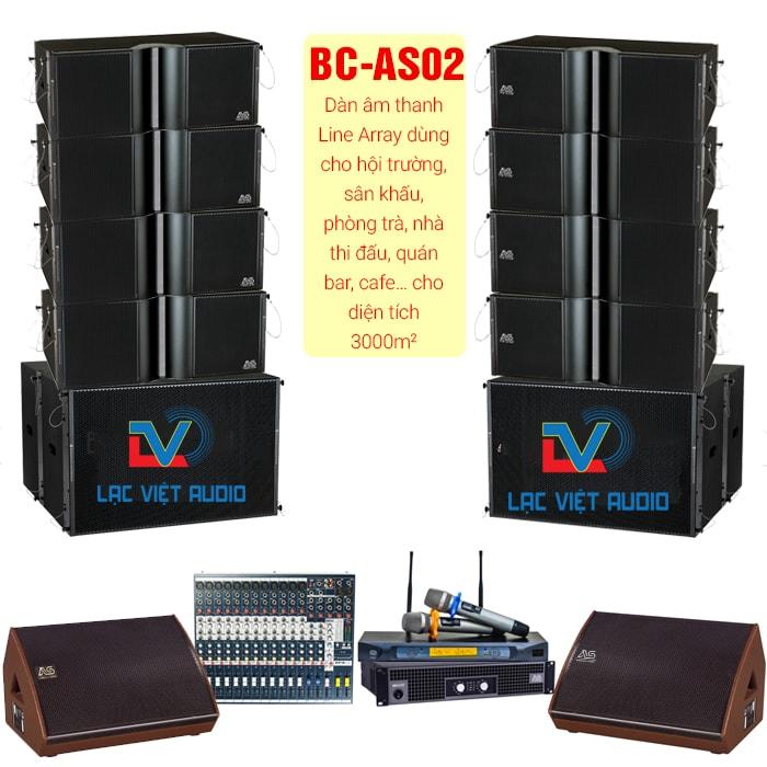 Dàn âm thanh sân khấu LV-AS02