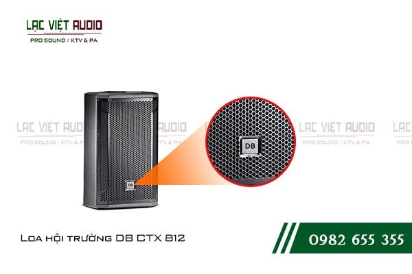 Các đặc điểm nổi bật của sản phẩmLoa hội trường DB CTX 812
