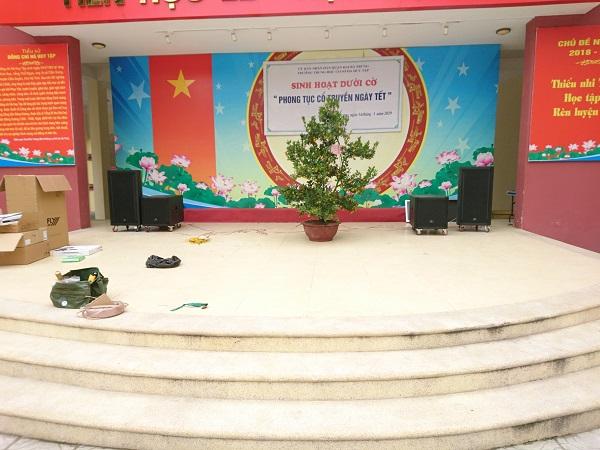 Dự án loa hội trường Hà Huy Tập