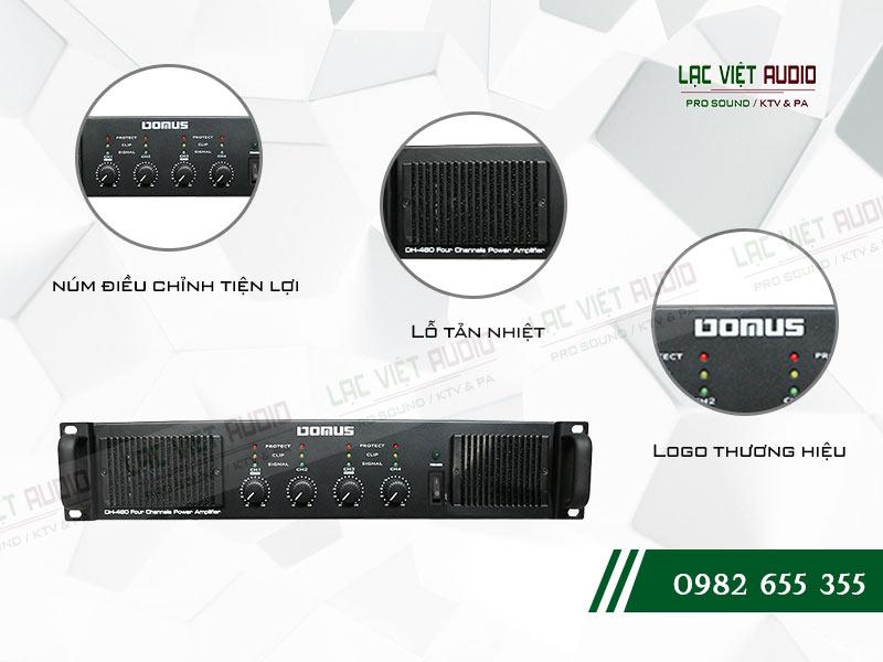 Đặc điểm cục đẩy công suất Domus DH 460