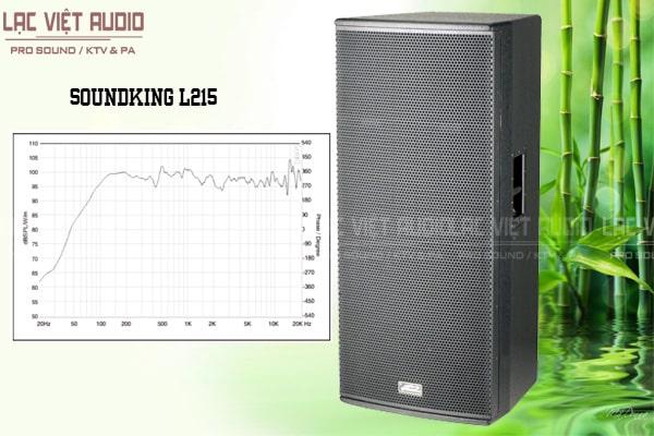 Dải tần số Loa soundking L215