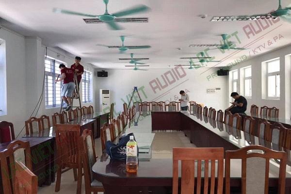 Dàn âm thanh trường tiểu học Phú Thượng - Tây Hồ