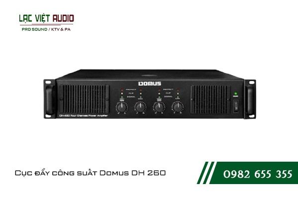 Giới thiệu về sản phẩmCục đẩy công suất Domus DH 260