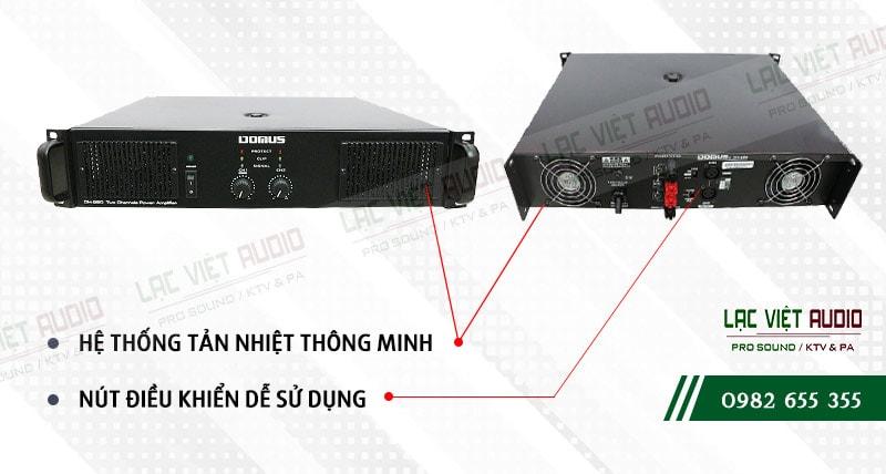 Các đặc điểm nổi bật của sản phẩmCục đẩy công suất Domus DH 260