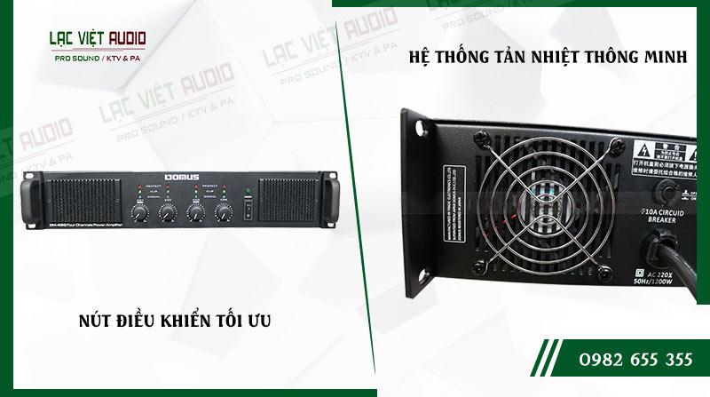 Các đặc điểm nổi bật của sản phẩmCục đẩy công suất Domus DH 430