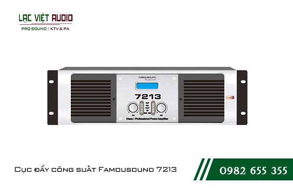 Giới thiệu về sản phẩm Cục đẩy công suất Famousound 7213