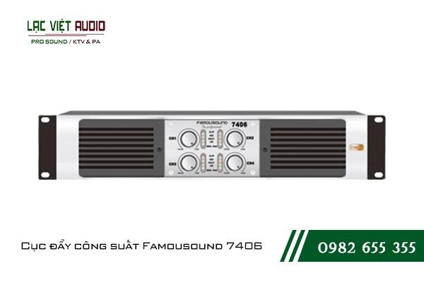 Giới thiệu về sản phẩm Cục đẩy công suất Famousound 7406