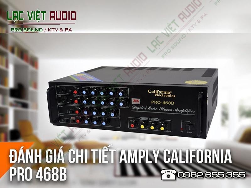 Giới thiệu về sản phẩmamply california 468b