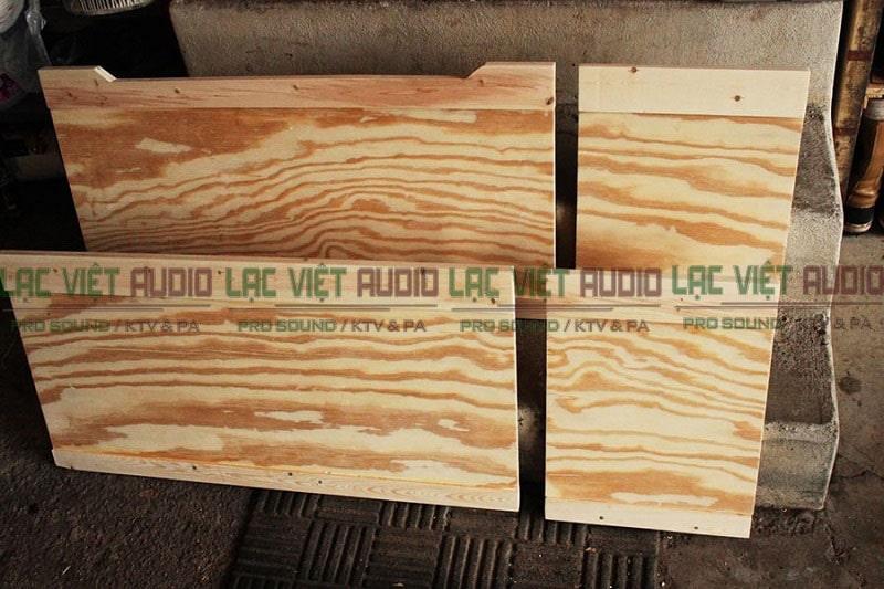 Đóng thùng loa bằng gỗ gì