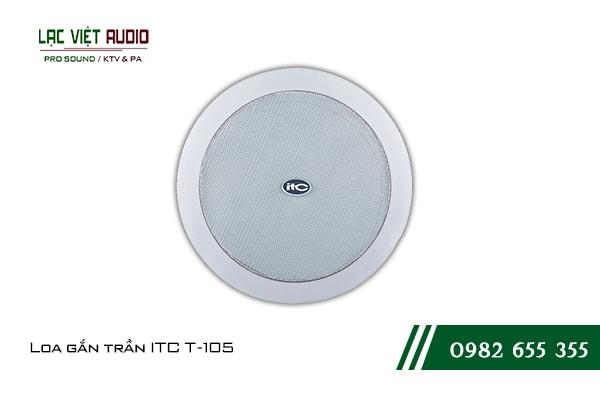 Giới thiệu về thiết bịLoa gắn trần ITC T105