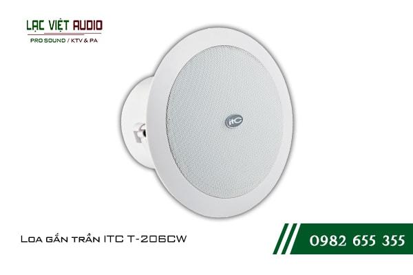 Giới thiệu về thiết bịLoa gắn trần ITC T206CW