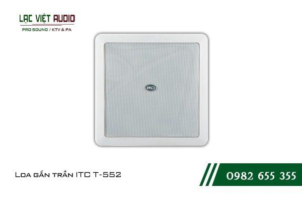 Giới thiệu về thiết bịLoa gắn trần ITC T552
